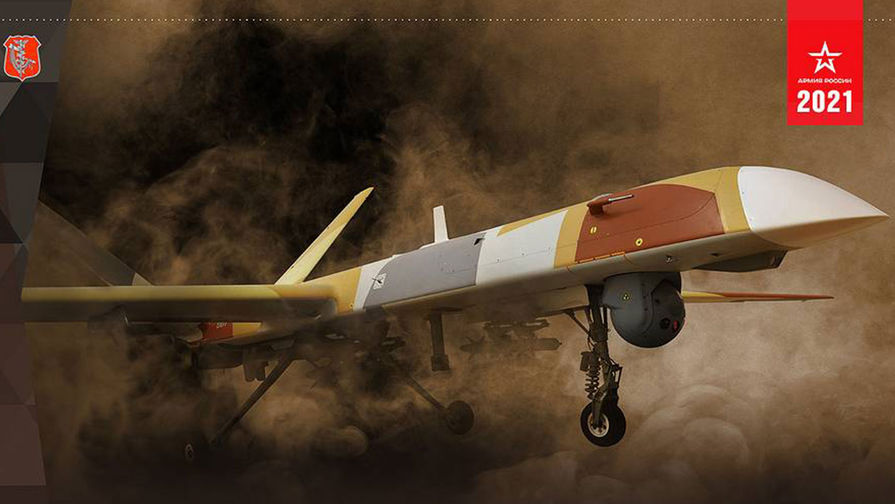 Беспилотник 'Орион' впервые показан в ударном варианте