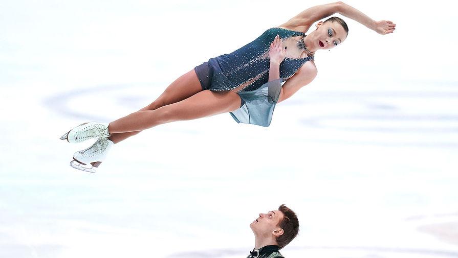 Бойкова и Козловский оценили свое выступление в короткой программе на ЧМ