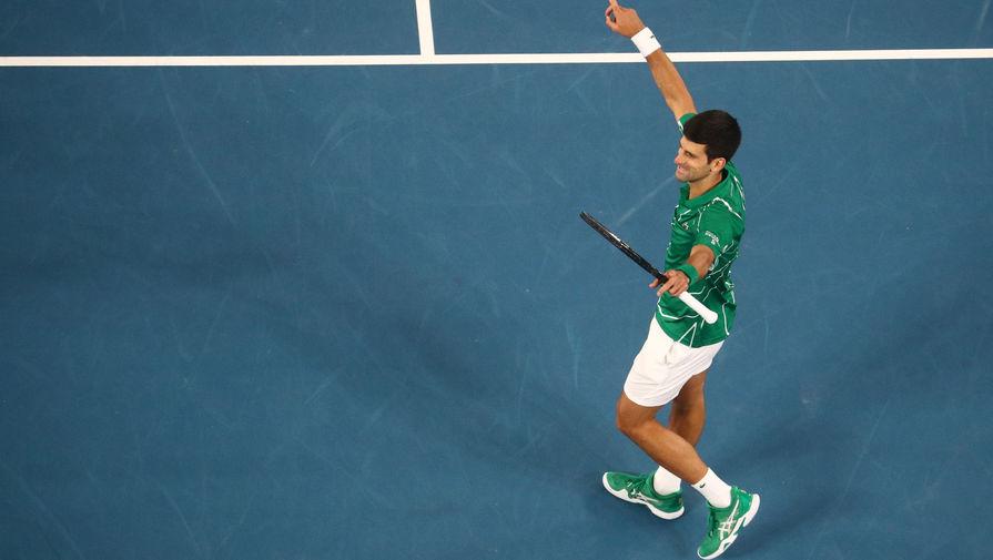Джокович вышел в третий круг Australian Open