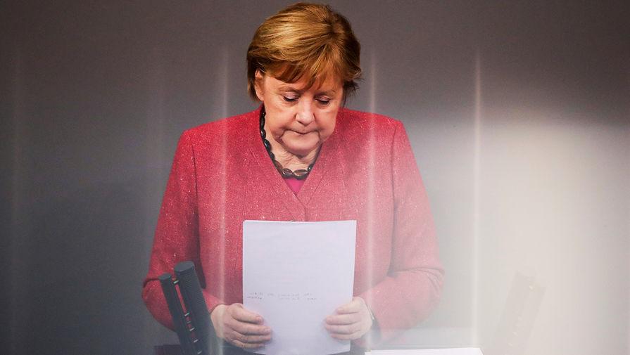 Меркель созвала кризисную встречу по вопросам вакцинации от COVID-19 в ФРГ