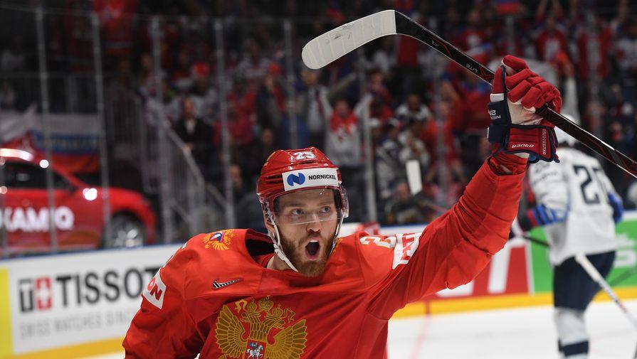 Российский хоккеист Григоренко забросил первую шайбу за 'Коламбус'