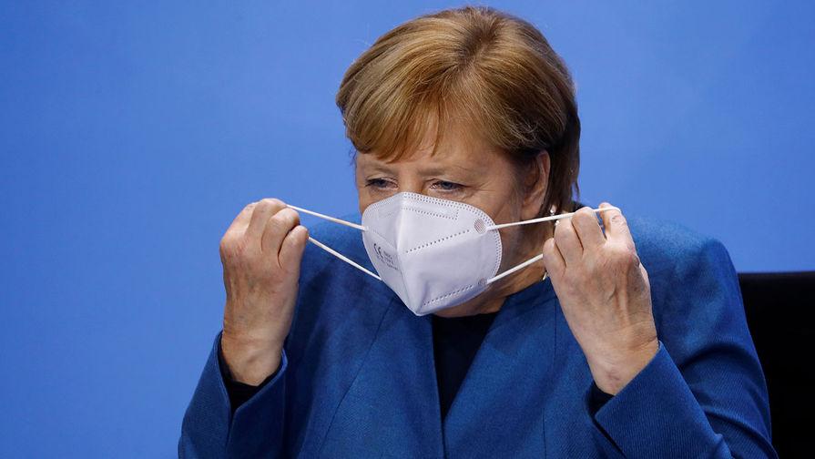 Меркель назвала 2020 год самым трудным за все время пребывания у власти