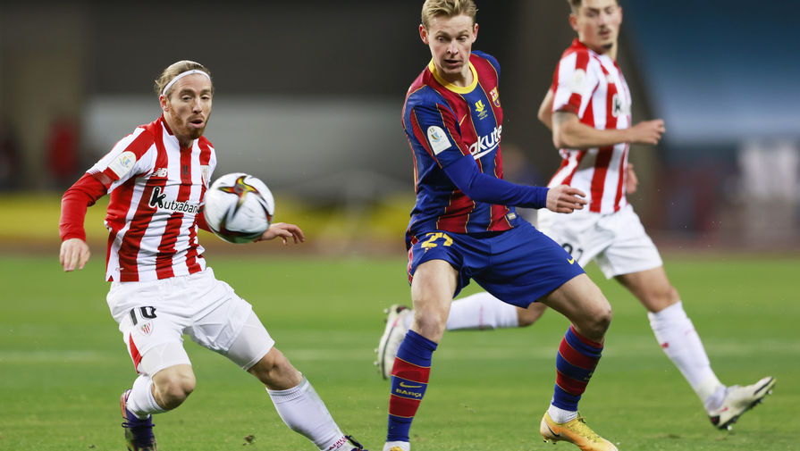 'Атлетик' победил 'Барселону' и выиграл Суперкубок Испании
