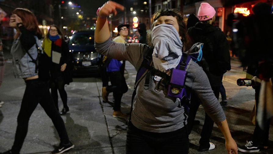 В Вашингтоне задержали 23 человека на митингах в поддержку Трампа