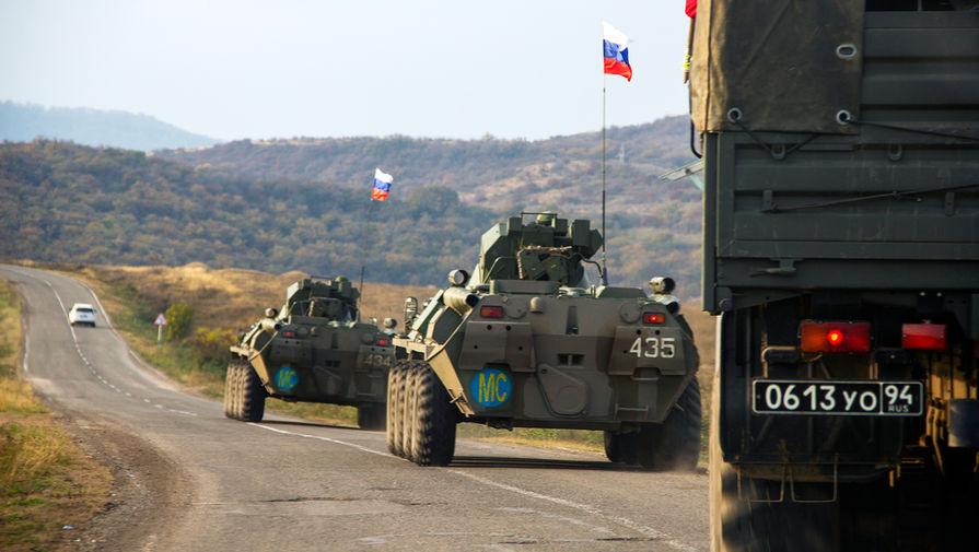 Российские миротворцы сообщили о стабилизации ситуации в Карабахе