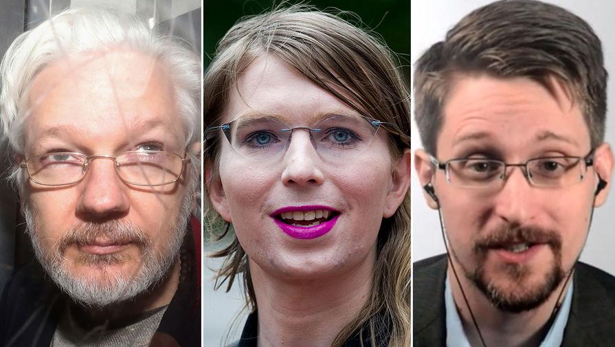 Ассанжа, Мэннинг и Сноудена выдвинули на Нобелевскую премию мира