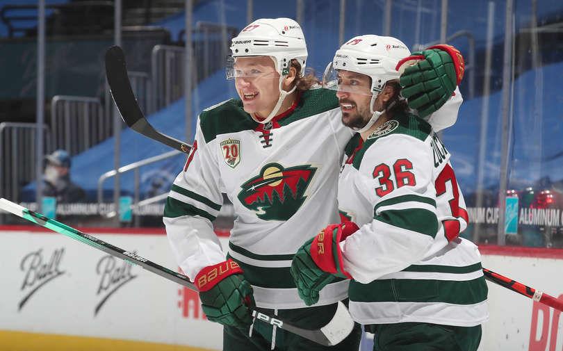 Капризов набрал 24-е очко в сезоне НХЛ и стал лучшим бомбардиром среди россиян