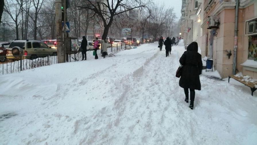В Москве с начала января выпало 133% месячной нормы осадков