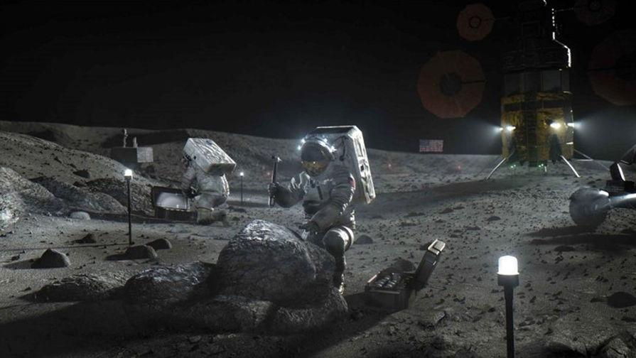 В Роскосмосе связали 'Соглашения Артемиды' с военной деятельностью на Луне