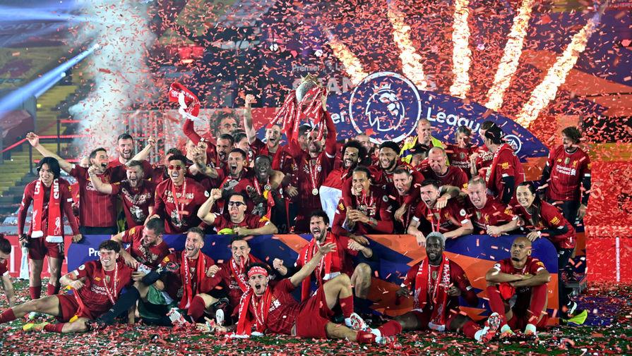 'Ливерпуль' признан лучшей командой 2020 года по версии BBC