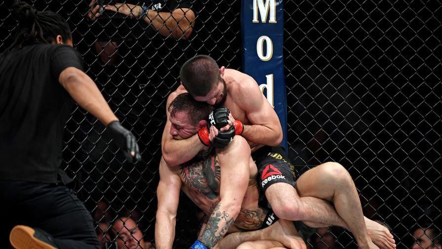 Хабиб раскритиковал Макгрегора после поражения от Порье на турнире UFC 257