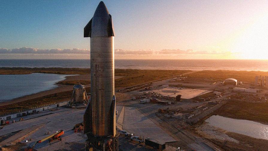 Испытания прототипа корабля Starship в Техасе закончились взрывом