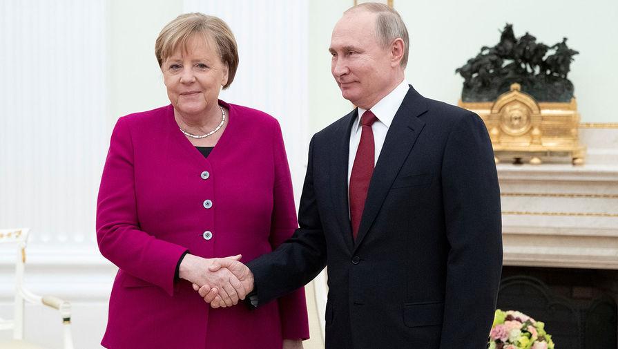 Путин ответил на вопрос, будет ли скучать по Меркель