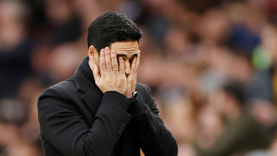 Тренер 'Арсенала' остался недоволен судейством в матче с 'Вулверхэмптоном'