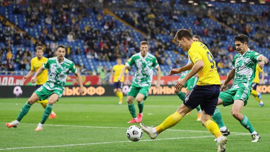 Стали известны составы 'Ахмата' и 'Ростова' на матч 18-го тура РПЛ