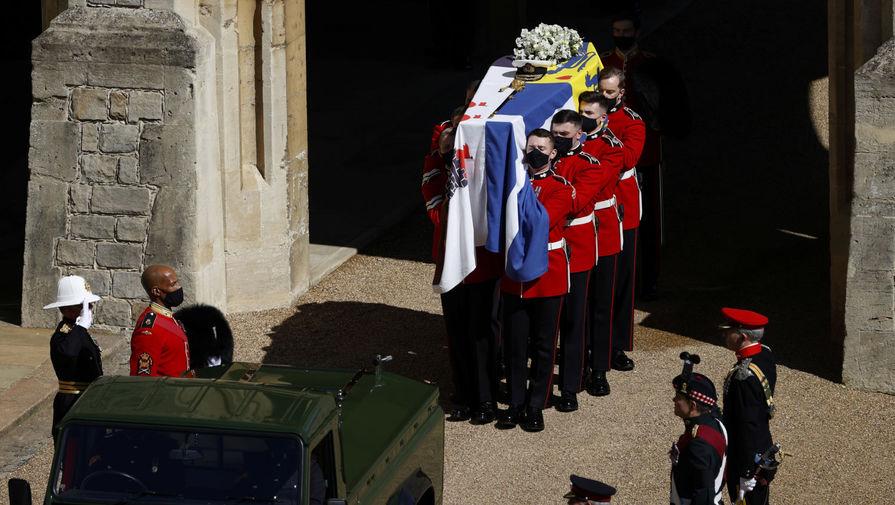 Принца Филиппа похоронили в часовне Святого Георгия в Виндзоре