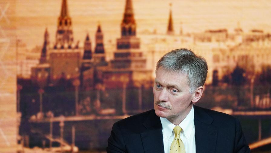 Песков: Путин и Меркель затрагивали вопрос о Навальном в недавнем разговоре