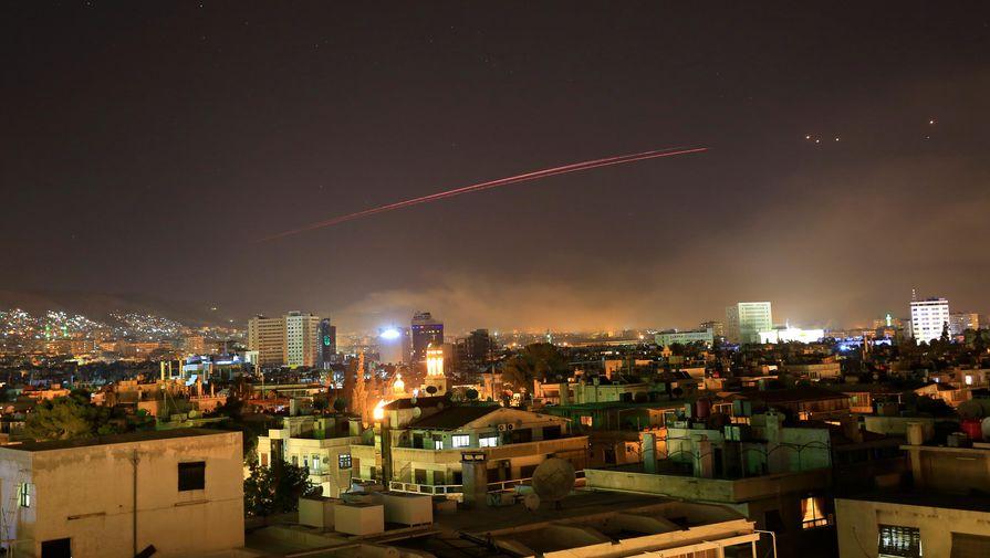 Израиль нанес ракетный удар по окрестностям Дамаска
