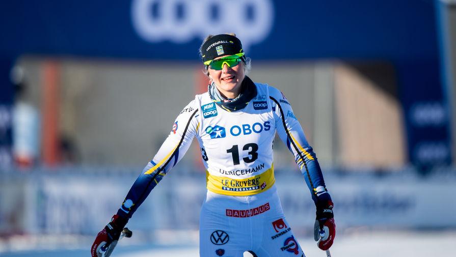 Шведская лыжница Дальквист выиграла спринт на этапе Кубка мира