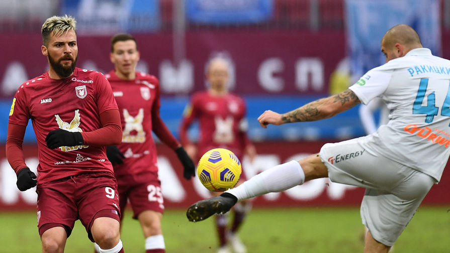 Игроку 'Рубина' наложили десять швов из-за травмы в матче с 'Зенитом'