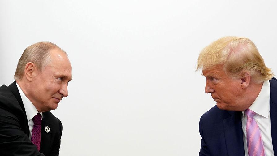 Кремль отрицает разговор Трампа с Путиным во время штурма Капитолия