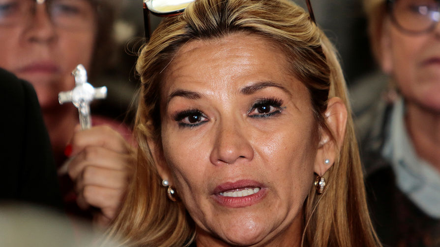 Экс-президент Боливии Аньес задержана по обвинениям в госизмене