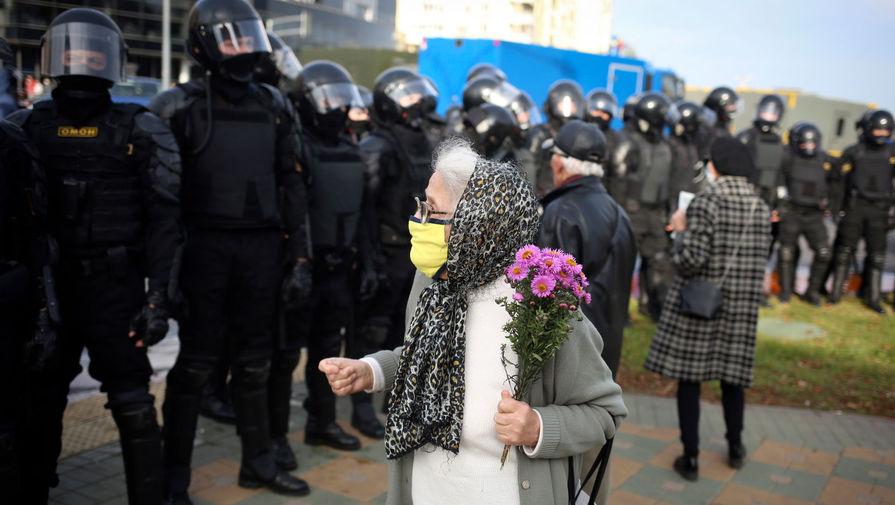 Первые воскресные протесты в 2021 году проходят в Минске
