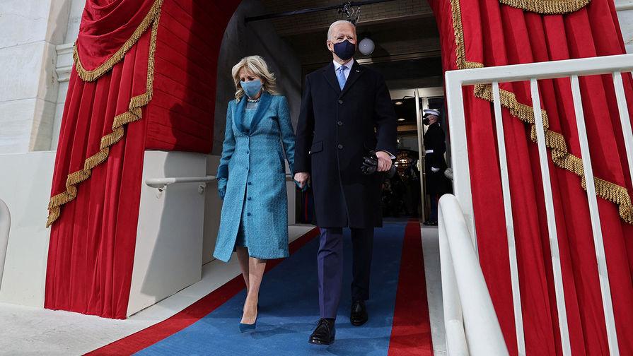 Байден прибыл в Белый дом