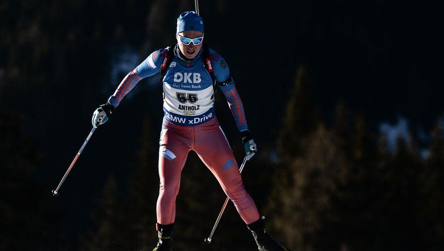 Биатлонистку Подчуфарову призвали извиниться за уход из сборной России