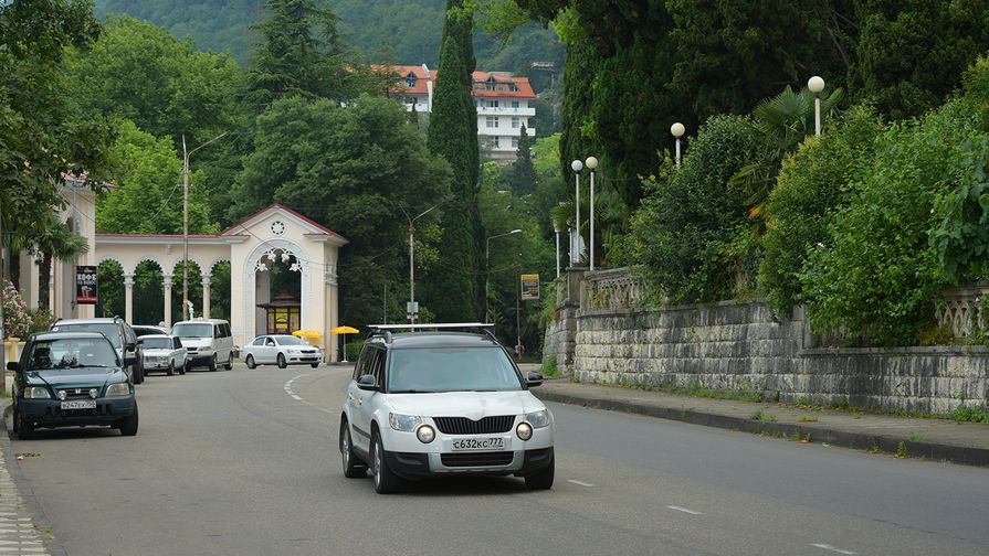 Половина Абхазии осталась без света