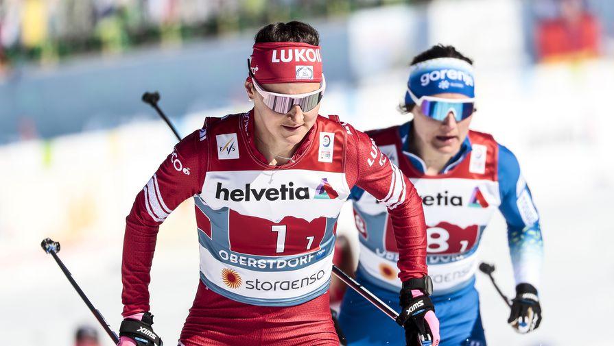 Лыжница Ступак заняла второе место в общем зачете Кубка мира