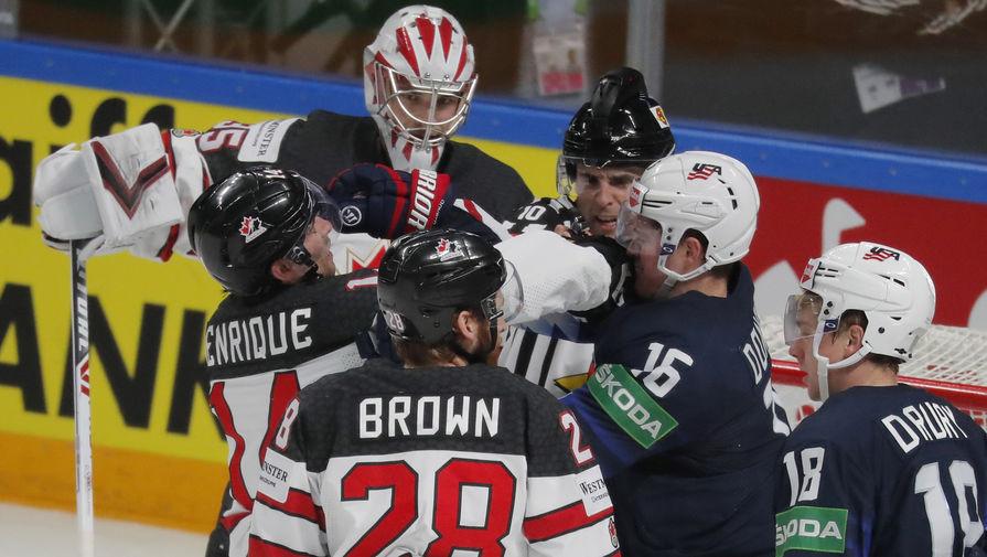 Канада обыграла США и вышла в финал ЧМ по хоккею