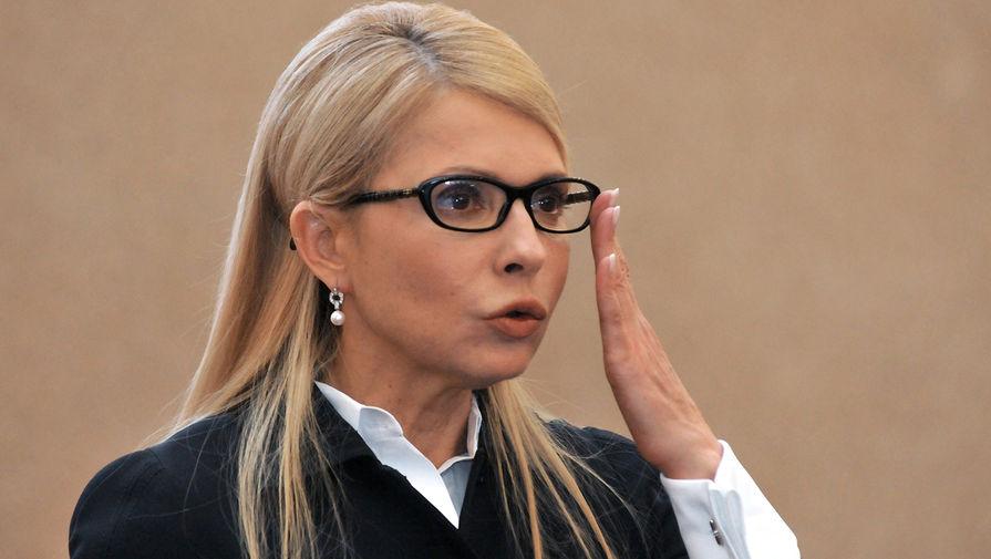 Тимошенко призвала Верховную раду уволить главу 'Нафтогаза'