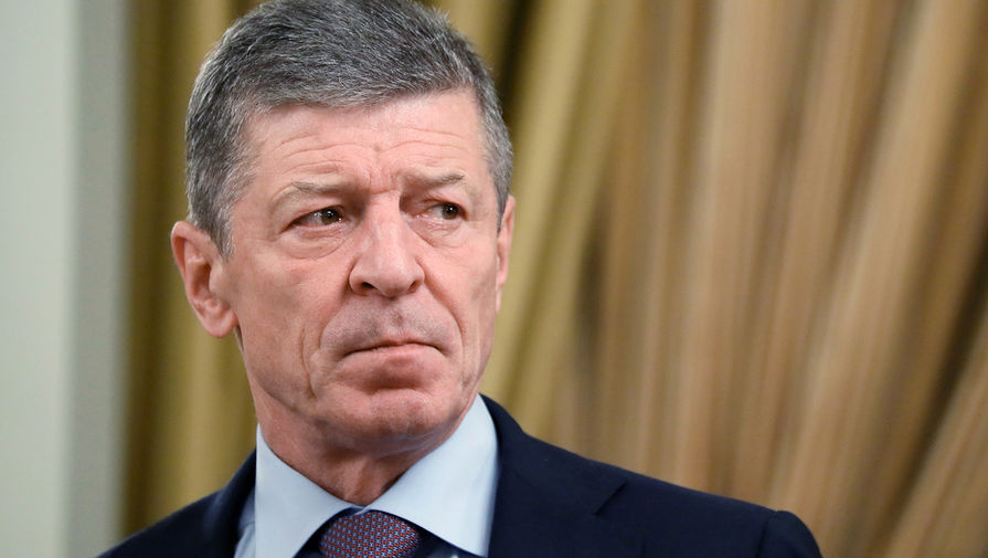 Козак: режим прекращения огня в Донбассе 'худо-бедно' соблюдается