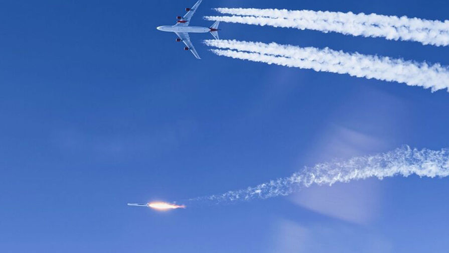На нидерландский город Мерссен упали обломки двигателя Boeing 747