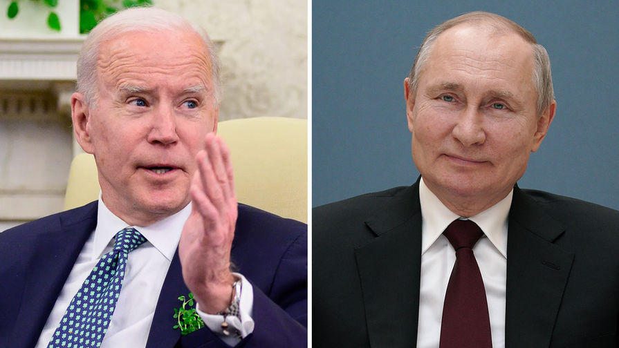 Белый дом ответил на предложение Путина о переговорах с Байденом в 'прямом эфире'