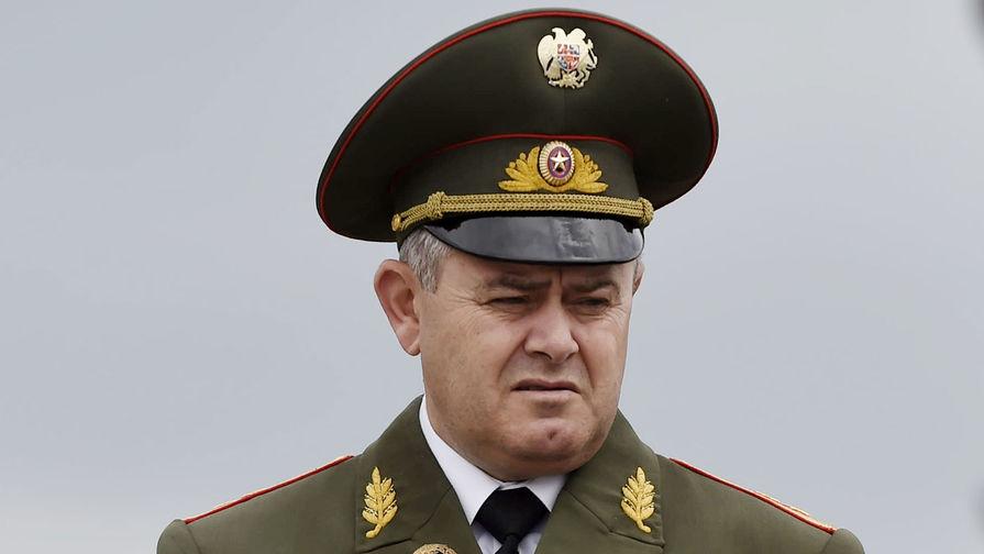 В Армении назначили нового начальника Генштаба ВС Армении