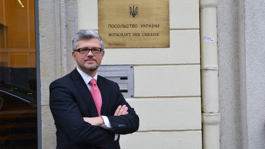 Посол Украины попросил Германию помочь 'вернуть' Крым