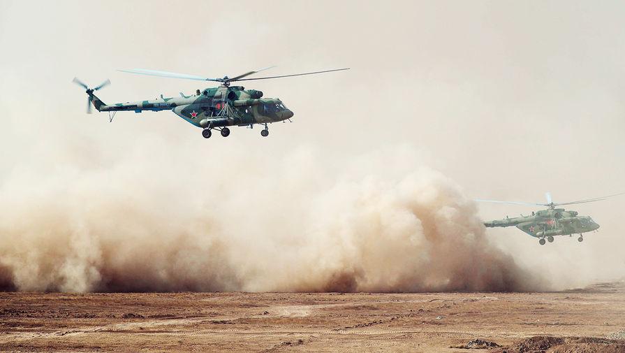 Ми-8 совершил вынужденную посадку в Югре