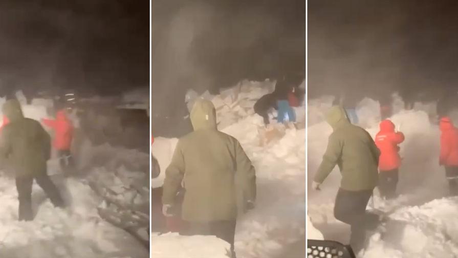 СК завел уголовное дело после схода лавины в Норильске