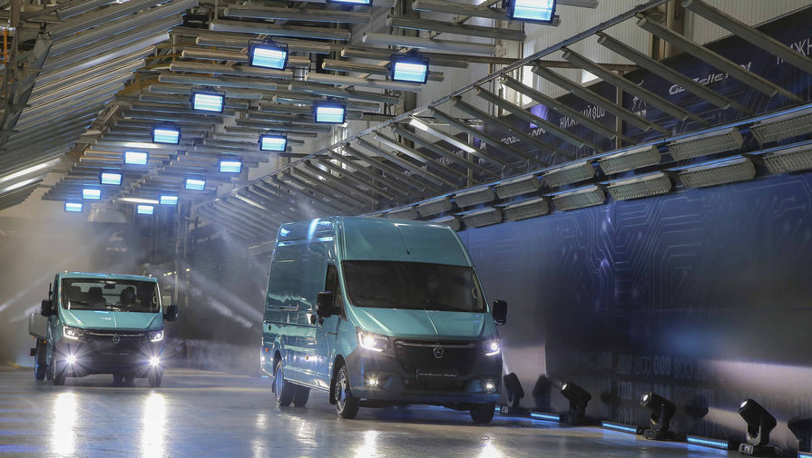 Серийное производство 'ГАЗели NN' стартовало на ГАЗе
