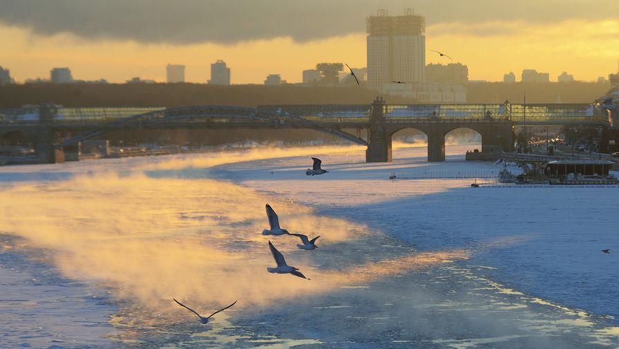 В Москве в пятницу днем ожидается до -14°С