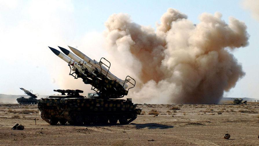 Средства ПВО Сирии отражают израильскую ракетную атаку над Дамаском