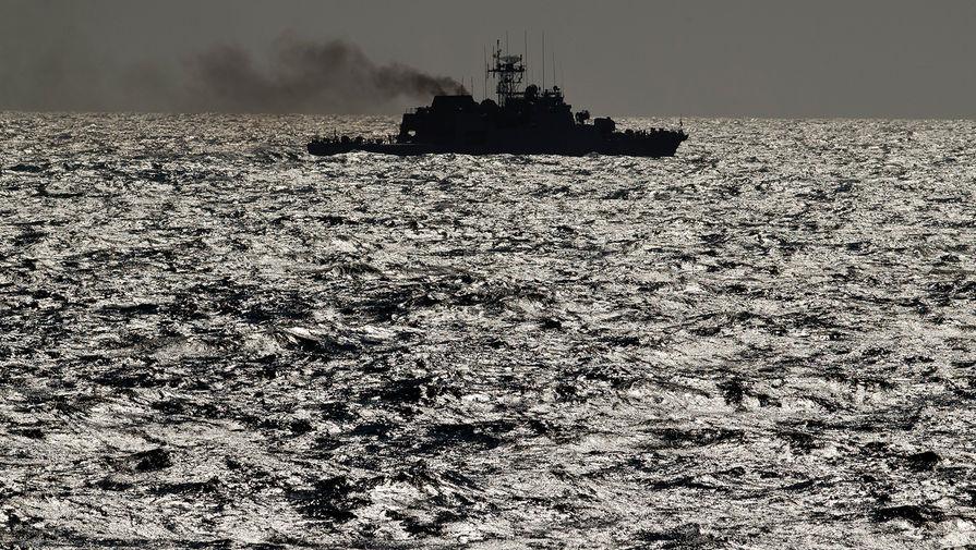 В Черное море зашел испанский эсминец