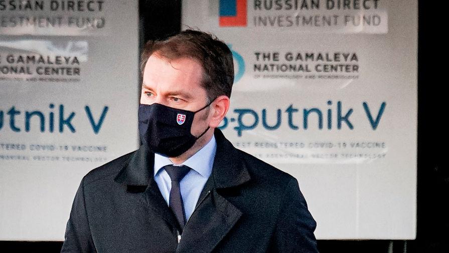 Премьер Словакии готов покинуть пост на фоне споров из-за 'Спутника V'