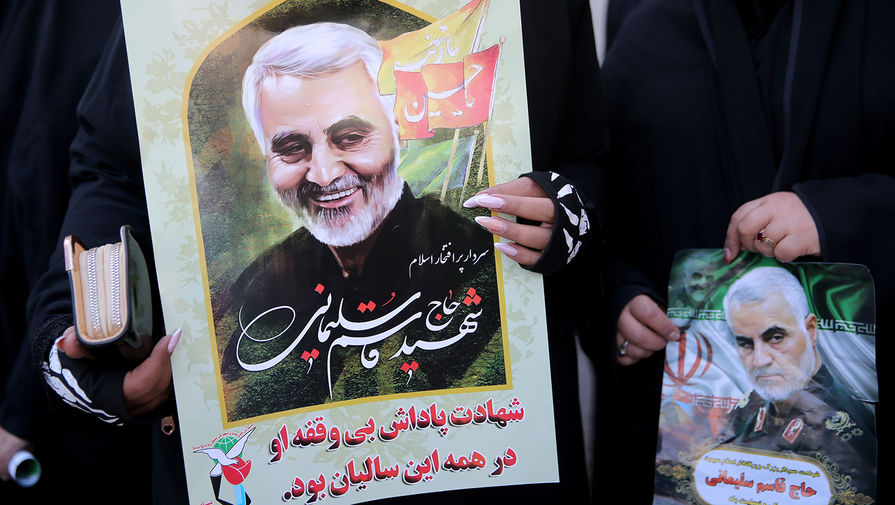 В Иране напомнили о 'суровой мести' за убийство Сулеймани