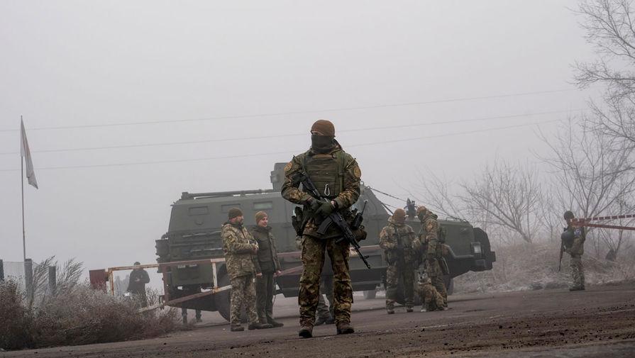 Украина заявила об одном нарушении режима тишины в Донбассе