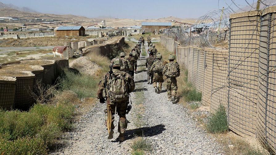 Американская военная база подверглась обстрелу в Афганистане