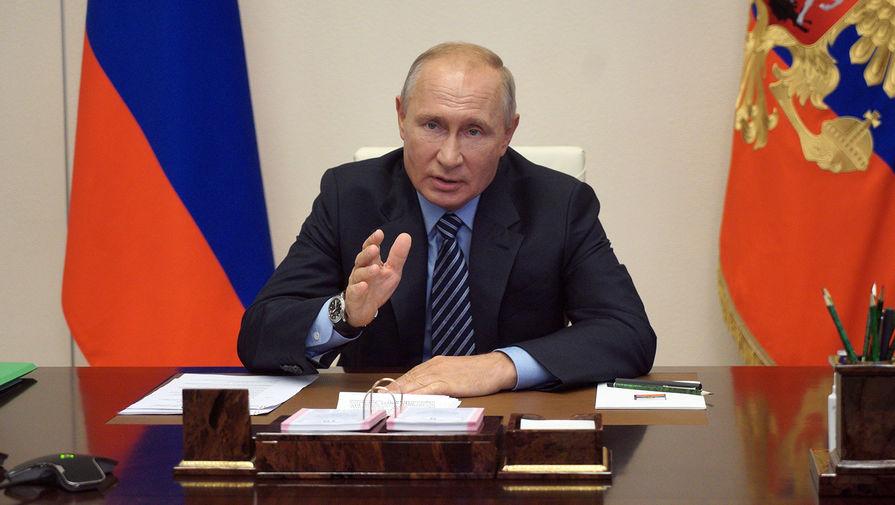 Кремль не будет публиковать кадры вакцинации Владимира Путина