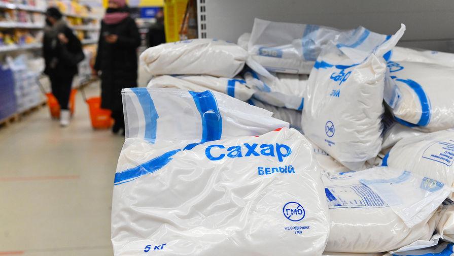 В России снизились цены на сахар